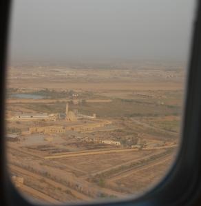 landing in baghdad
