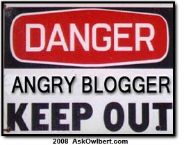 angry blogger