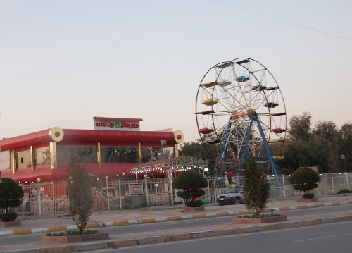 A fun fare in central Baghdad