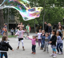 bubbles in the park4
