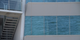 w hotel reflection of sea